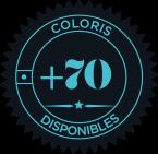 70 coloris